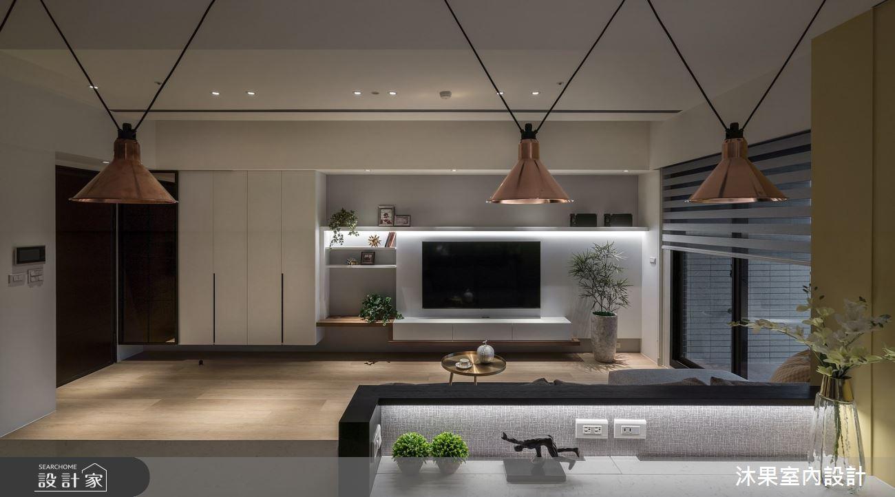 24坪新成屋(5年以下)_現代風客廳案例圖片_沐果室內設計有限公司_沐果_21之8