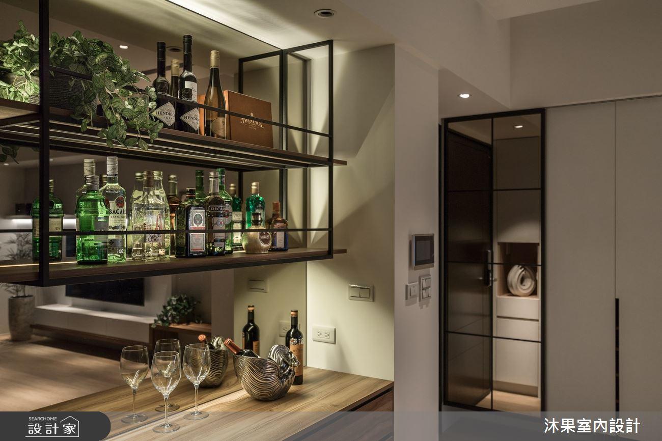 24坪新成屋(5年以下)_現代風吧檯案例圖片_沐果室內設計有限公司_沐果_21之12
