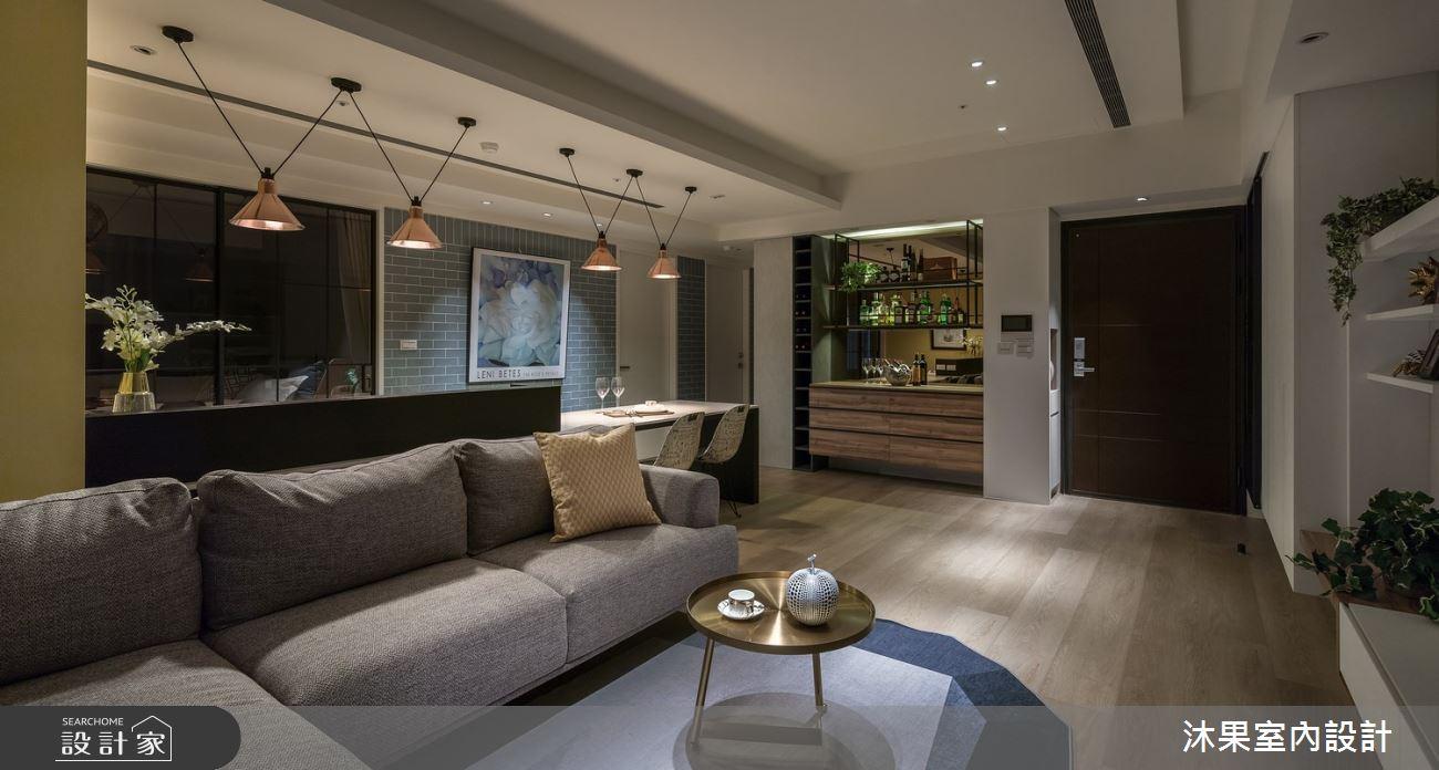 24坪新成屋(5年以下)_現代風客廳案例圖片_沐果室內設計有限公司_沐果_21之4