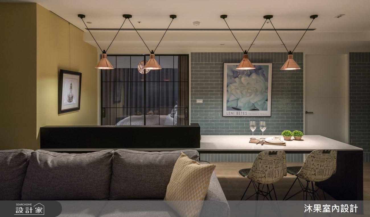 24坪新成屋(5年以下)_現代風客廳餐廳案例圖片_沐果室內設計有限公司_沐果_21之10