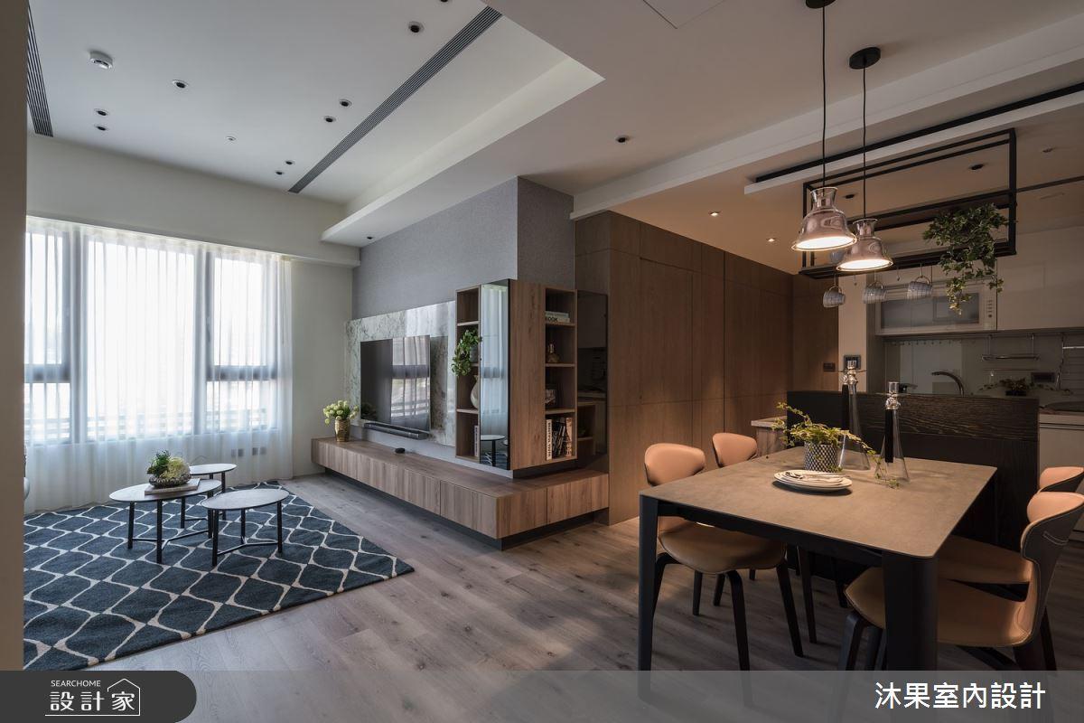 24坪新成屋(5年以下)_現代風餐廳案例圖片_沐果室內設計有限公司_沐果_22之3