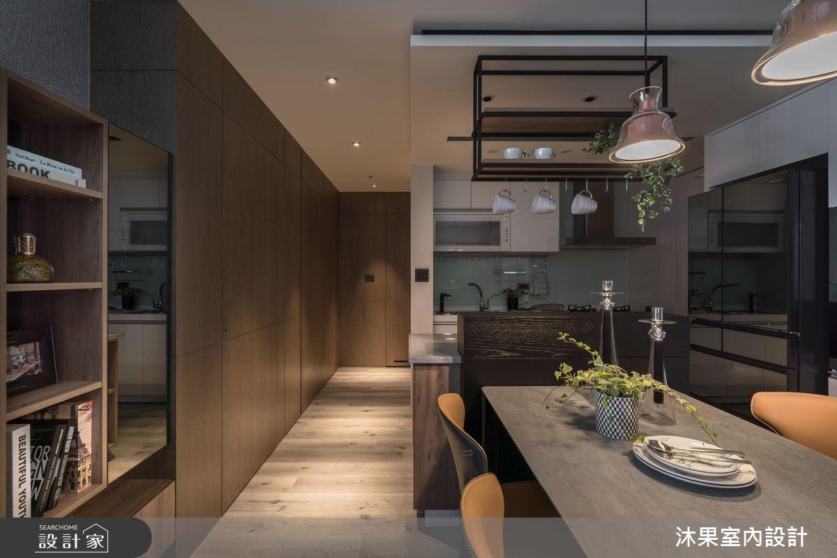 24坪新成屋(5年以下)_現代風餐廳廚房吧檯案例圖片_沐果室內設計有限公司_沐果_22之5