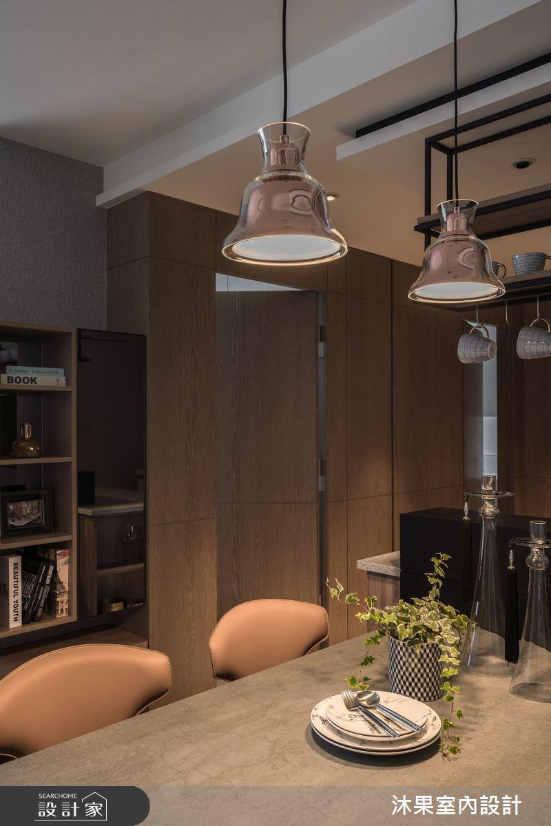 24坪新成屋(5年以下)_現代風餐廳案例圖片_沐果室內設計有限公司_沐果_22之10