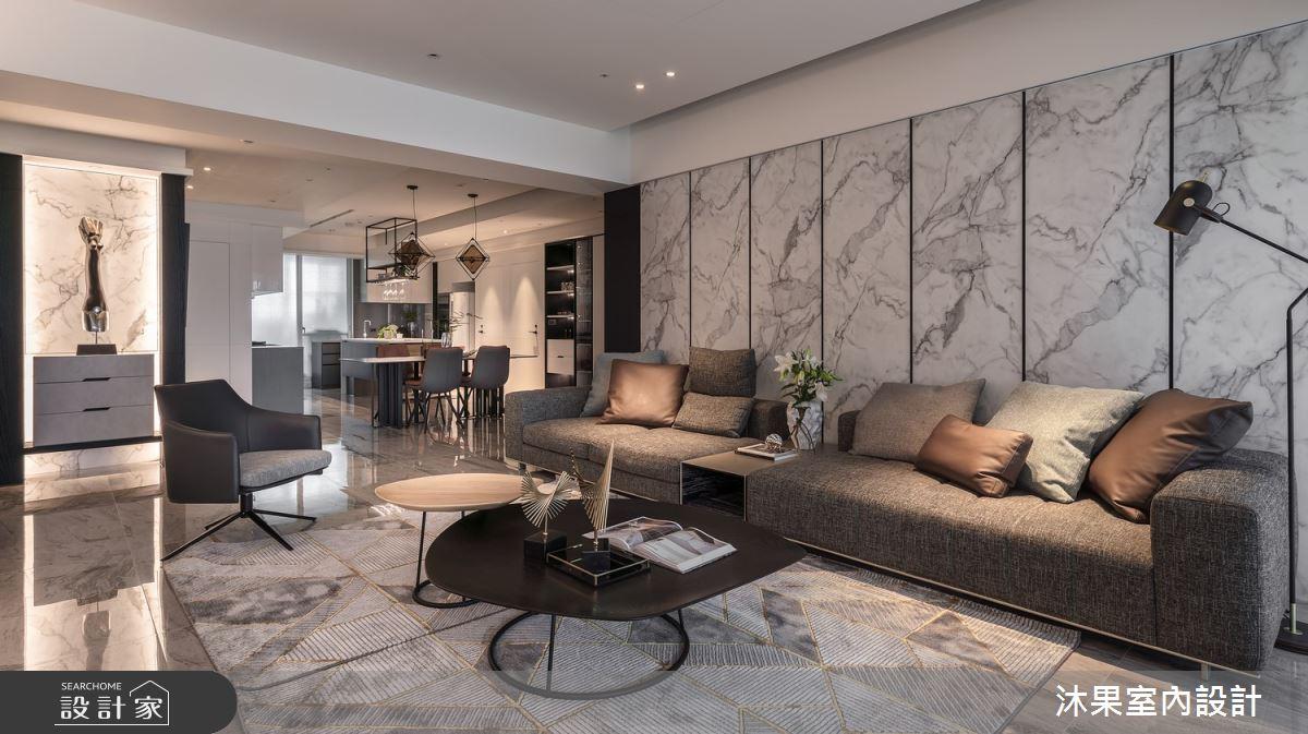 55坪新成屋(5年以下)_現代風客廳案例圖片_沐果室內設計有限公司_沐果_23之8