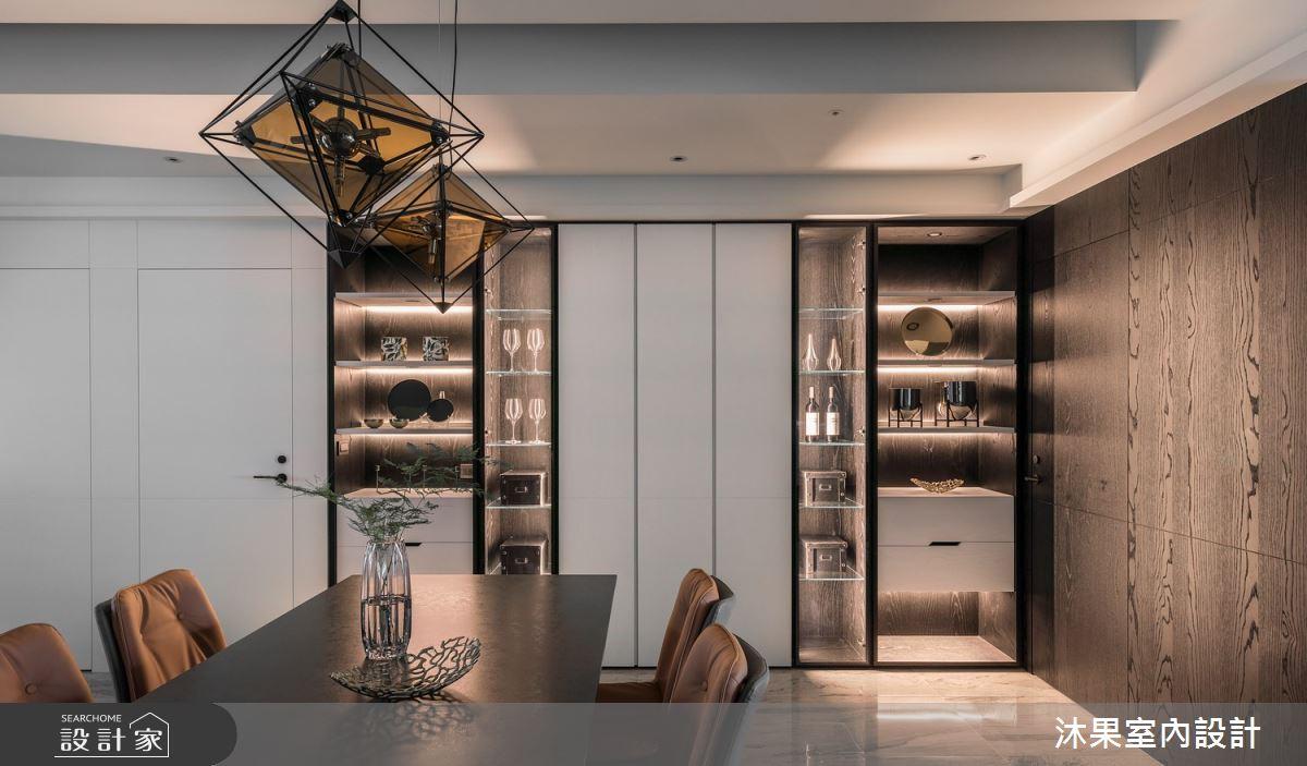 55坪新成屋(5年以下)_現代風餐廳案例圖片_沐果室內設計有限公司_沐果_23之14