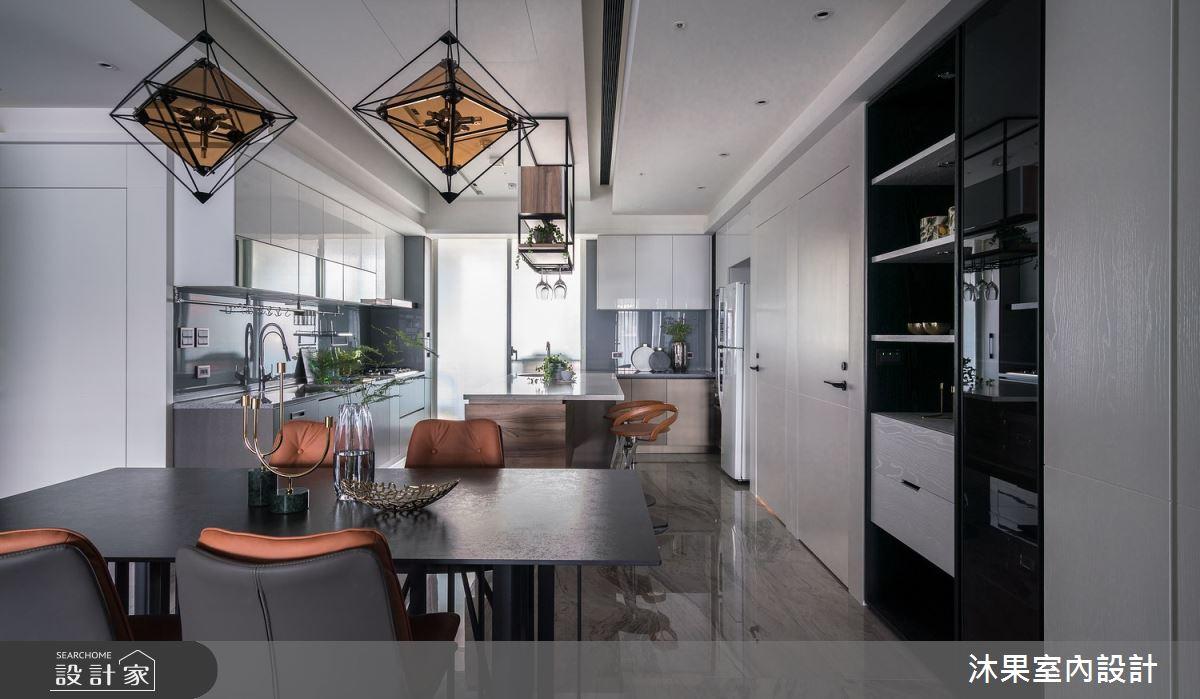 55坪新成屋(5年以下)_現代風餐廳案例圖片_沐果室內設計有限公司_沐果_23之13