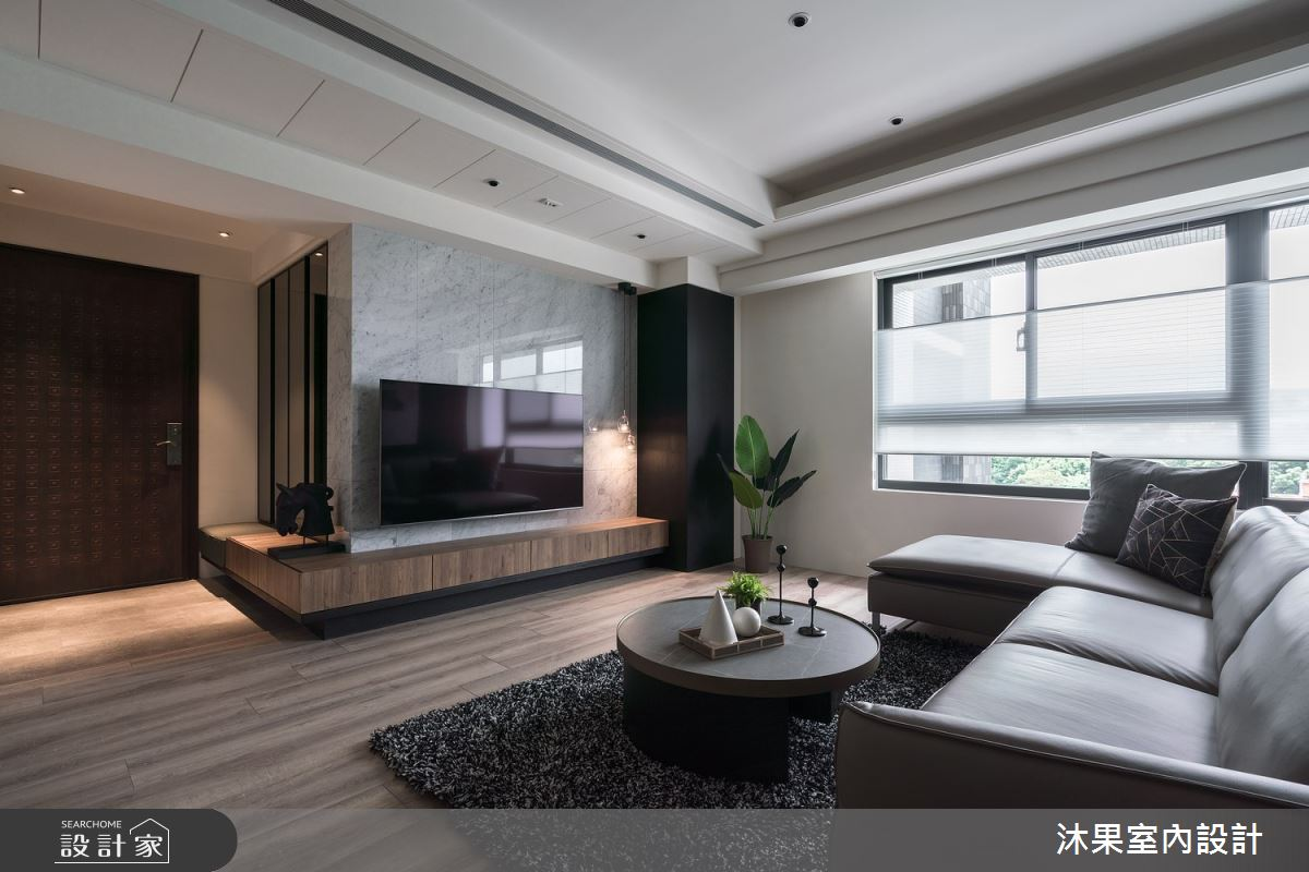55坪新成屋(5年以下)_現代風案例圖片_沐果室內設計有限公司_沐果_25之4