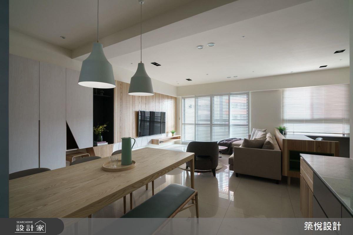 40坪新成屋(5年以下)_北歐風餐廳案例圖片_築悅空間設計_築悅_07之4