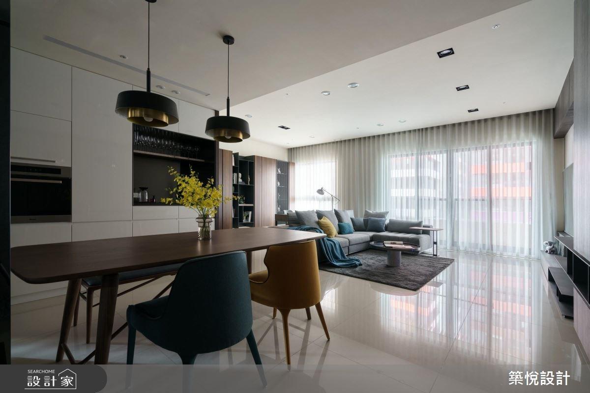 38坪新成屋(5年以下)_現代風餐廳案例圖片_築悅空間設計_築悅_08之2