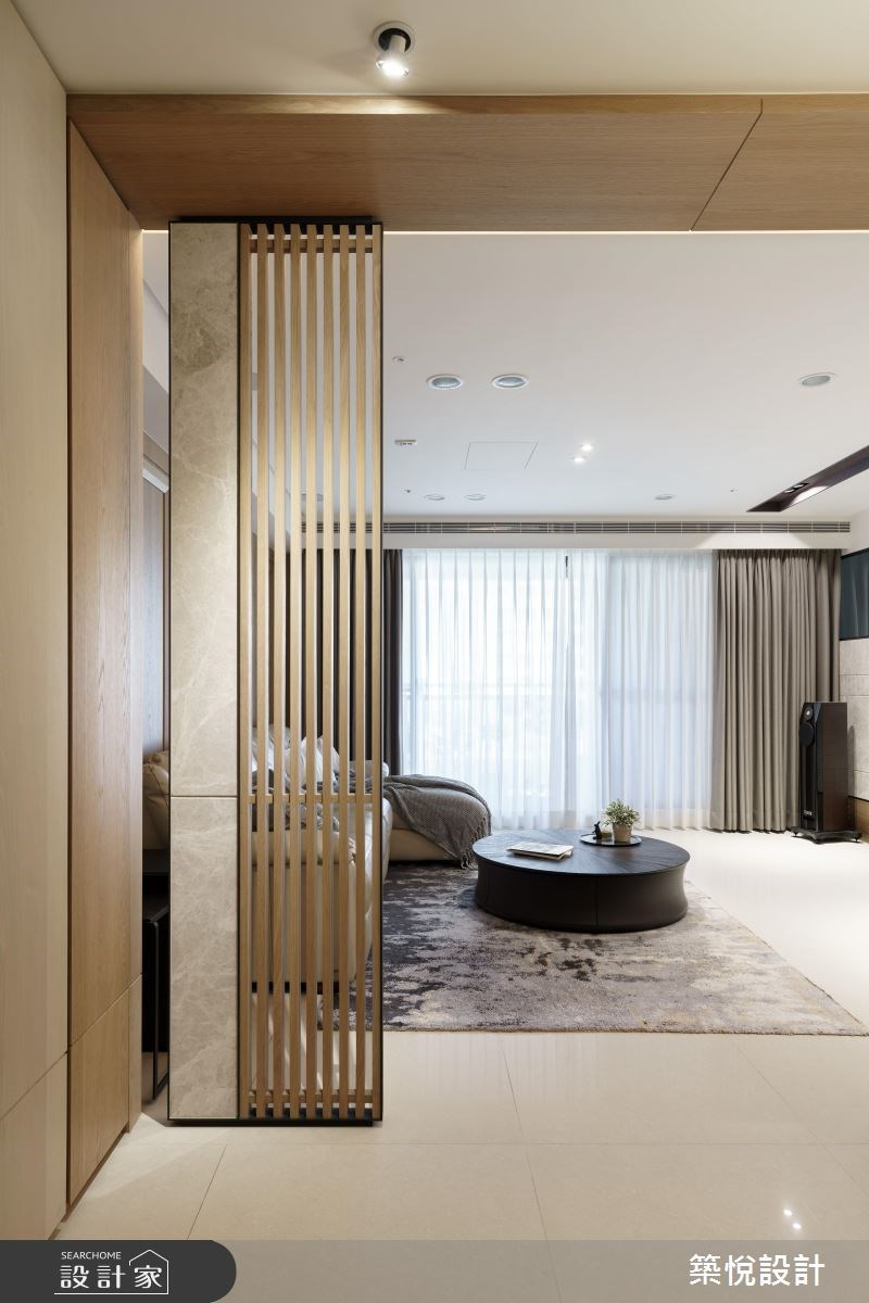 40坪新成屋(5年以下)_混搭風客廳案例圖片_築悅空間設計_築悅_10之4