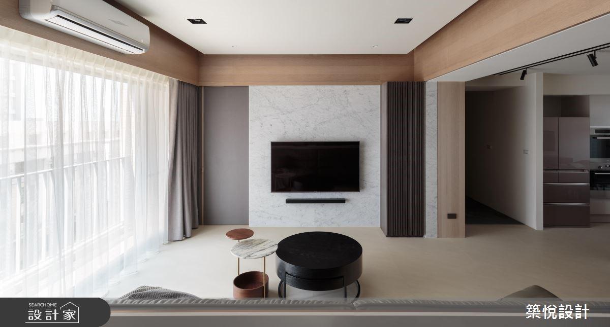 45坪新成屋(5年以下)_現代風客廳案例圖片_築悅空間設計_築悅_11之1