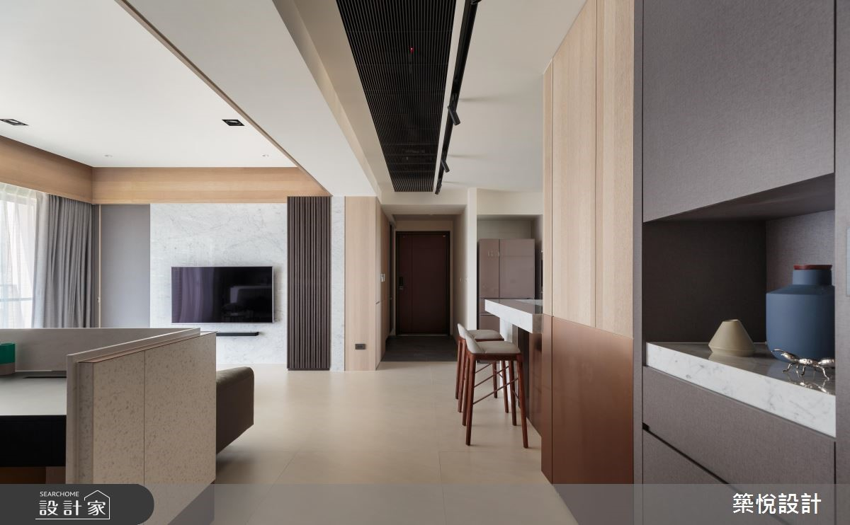 45坪新成屋(5年以下)_現代風玄關走廊案例圖片_築悅空間設計_築悅_11之3