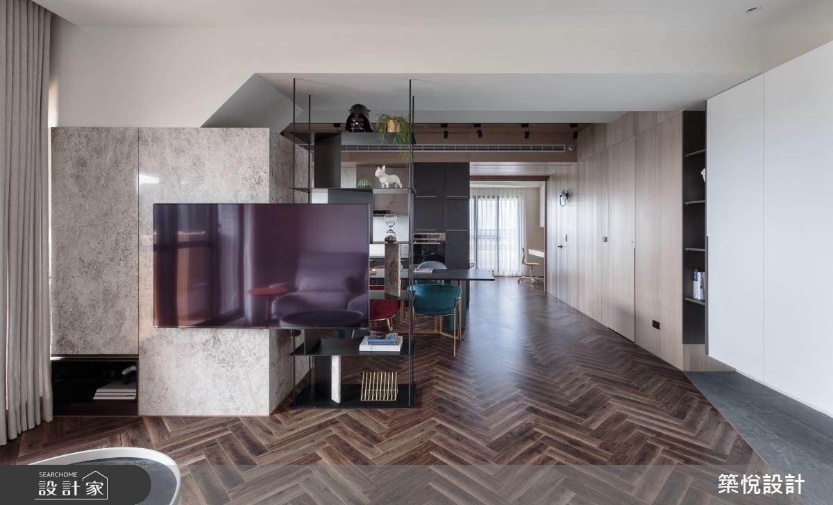 28坪預售屋_現代風客廳案例圖片_築悅空間設計_築悅_13之3