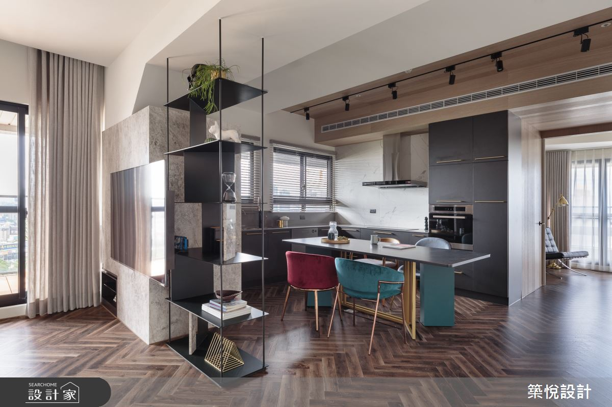 28坪預售屋_現代風餐廳案例圖片_築悅空間設計_築悅_13之6