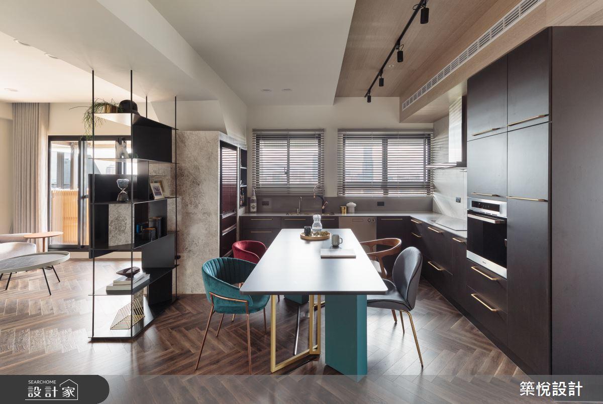 28坪預售屋_現代風餐廳案例圖片_築悅空間設計_築悅_13之7