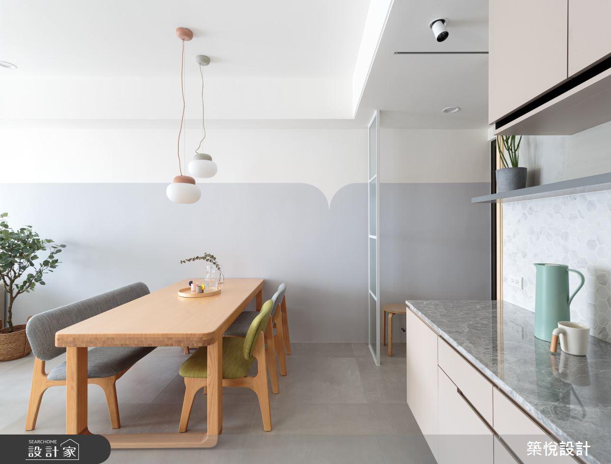 30坪新成屋(5年以下)_北歐風餐廳案例圖片_築悅空間設計_築悅_14之2