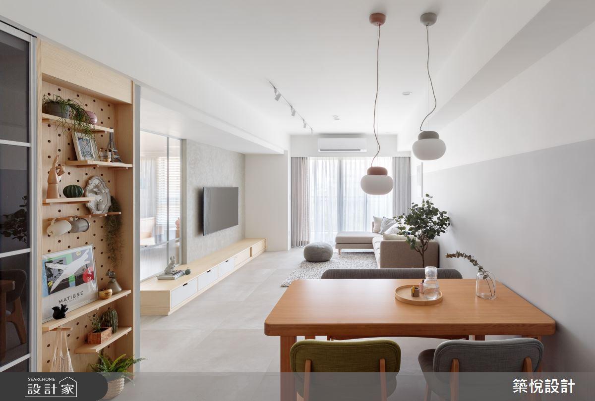 30坪新成屋(5年以下)_北歐風餐廳案例圖片_築悅空間設計_築悅_14之3
