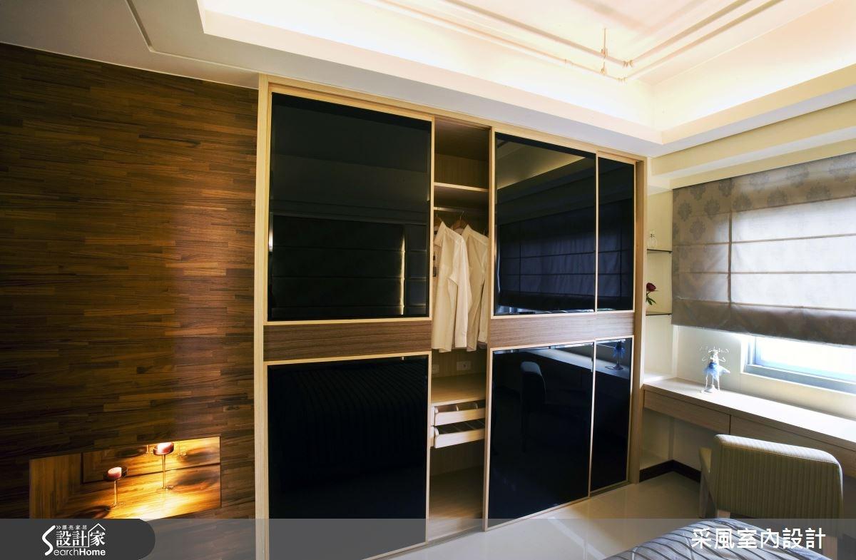 30坪新成屋(5年以下)_現代風臥室案例圖片_采風室內設計_采風_01之15
