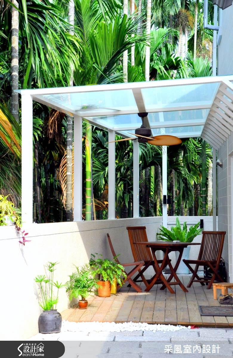52坪新成屋(5年以下)_休閒風庭院案例圖片_采風室內設計_采風_05之1