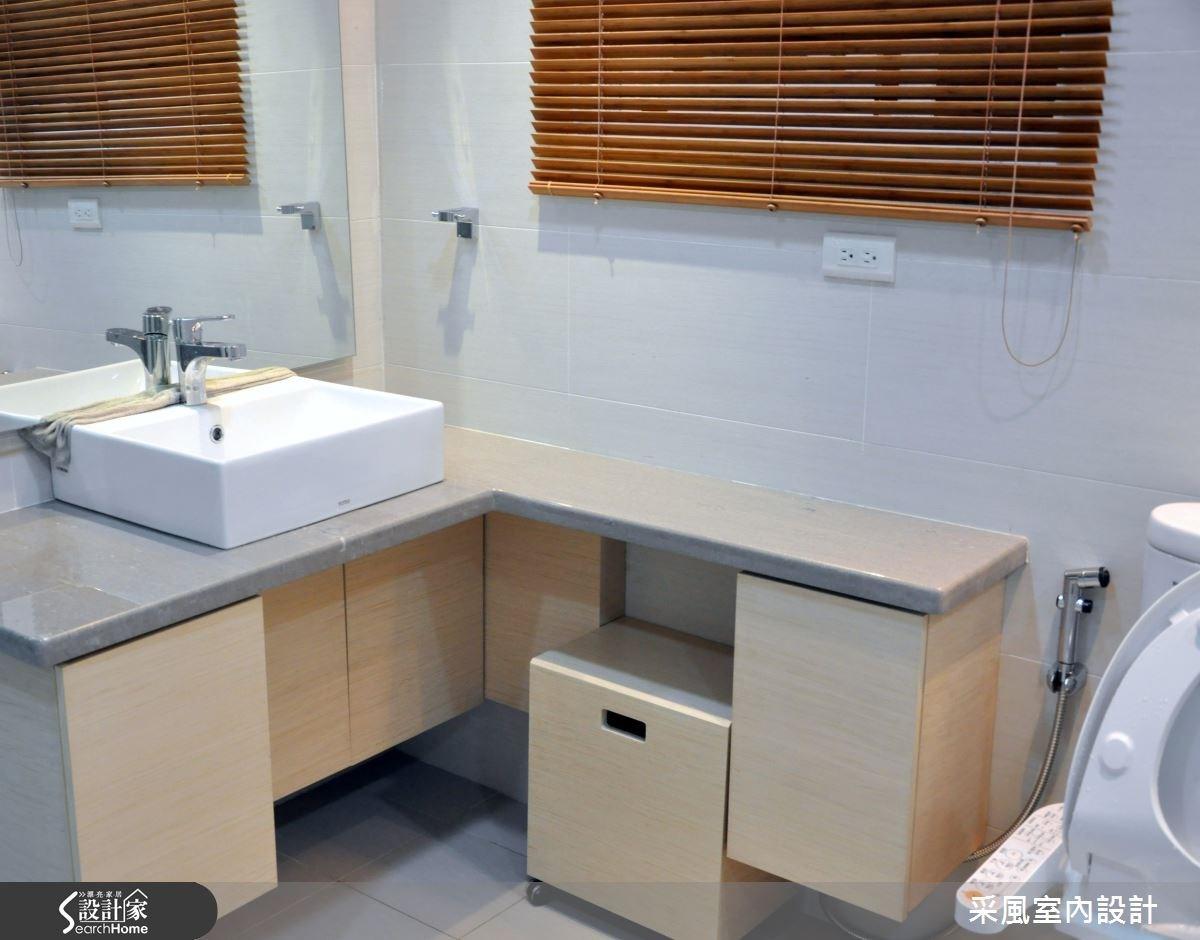 52坪新成屋(5年以下)_休閒風浴室案例圖片_采風室內設計_采風_05之25