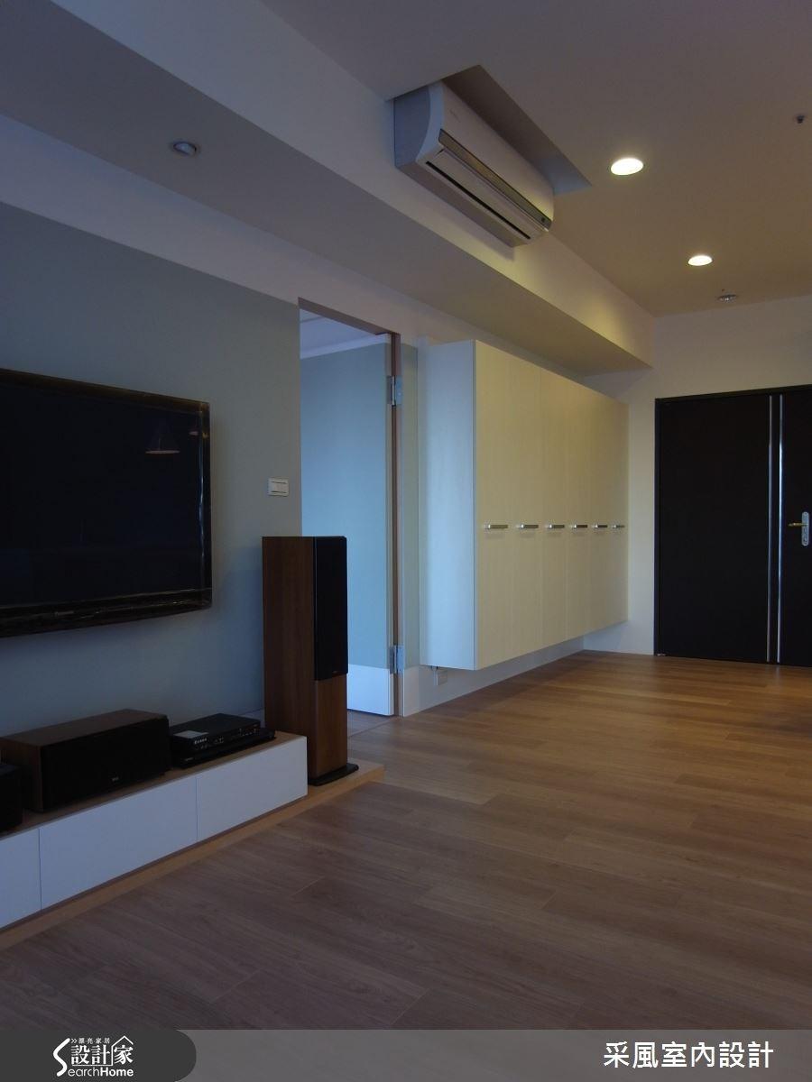 40坪新成屋(5年以下)_北歐風客廳案例圖片_采風室內設計_采風_08之1