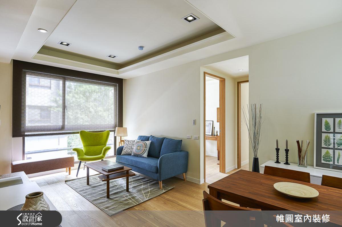 百萬以下打造清新系木感居家 小夫妻的 20 坪日式簡約窩