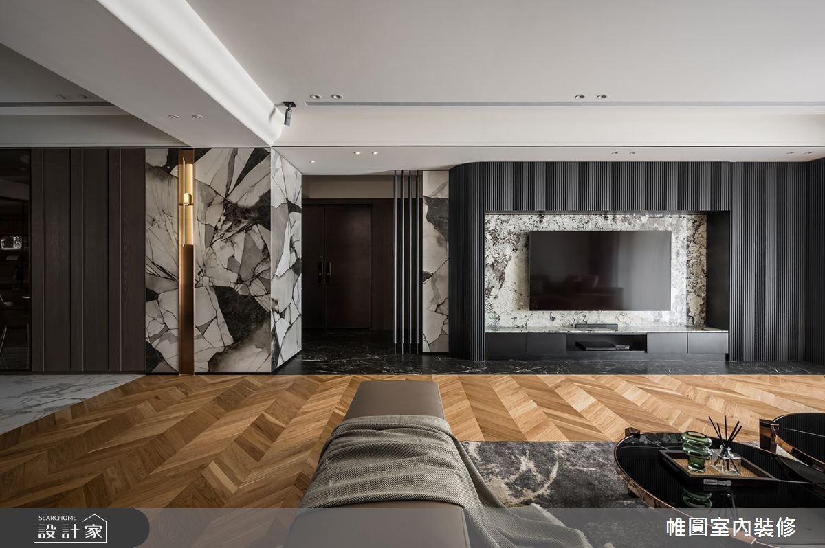 110坪新成屋(5年以下)_現代風案例圖片_帷圓室內裝修有限公司_帷圓_32之1