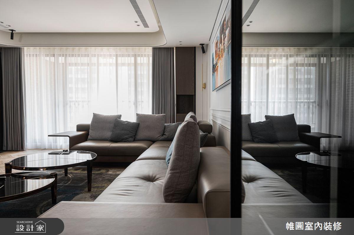 110坪新成屋(5年以下)_現代風案例圖片_帷圓室內裝修有限公司_帷圓_32之3