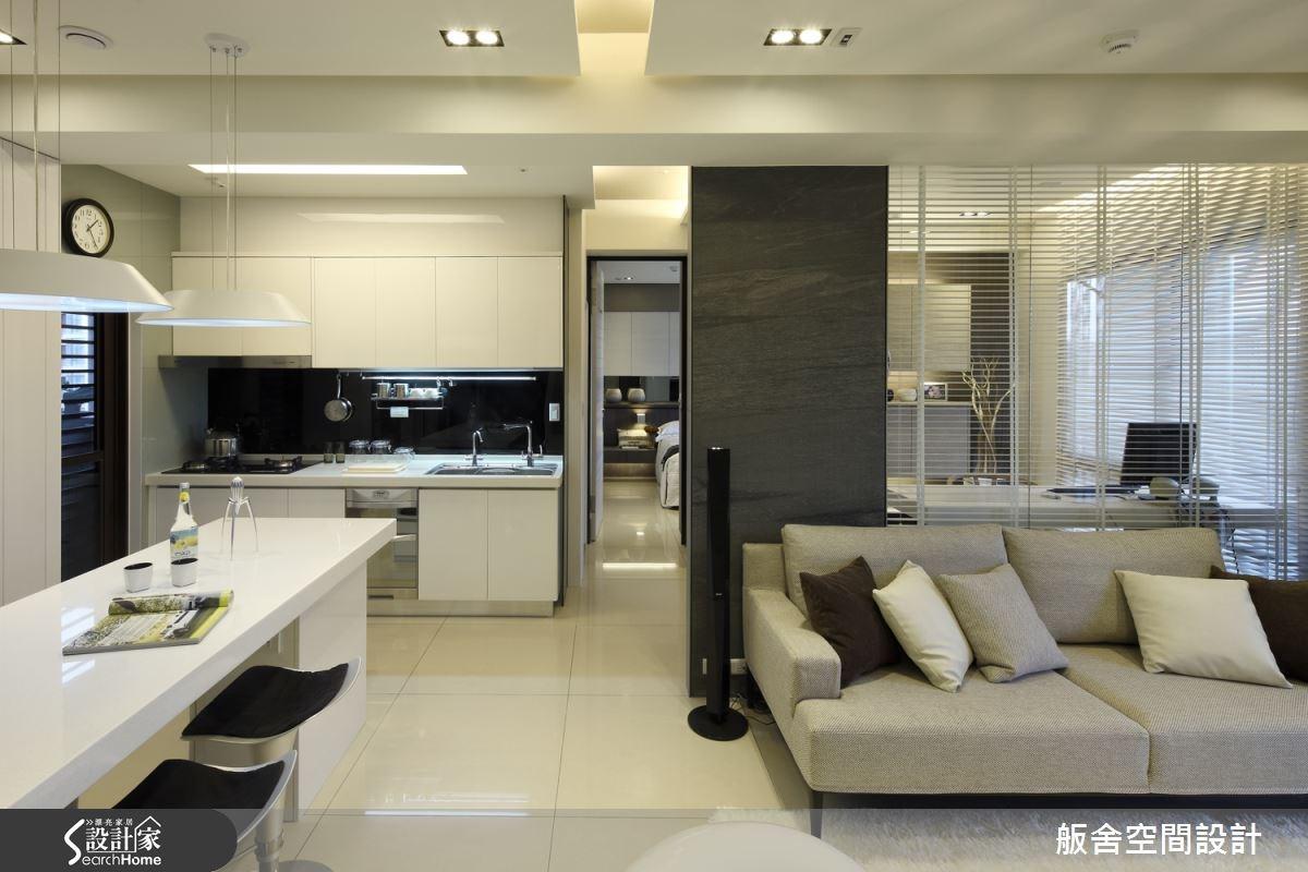 20坪新成屋(5年以下)_現代風客廳吧檯案例圖片_舨舍空間設計有限公司_舨舍_08之2