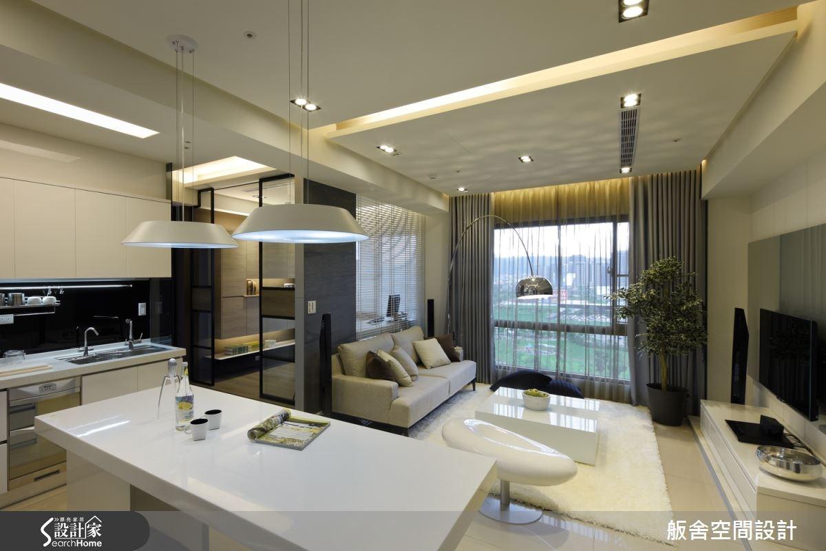 20坪新成屋(5年以下)_現代風客廳吧檯案例圖片_舨舍空間設計有限公司_舨舍_08之3