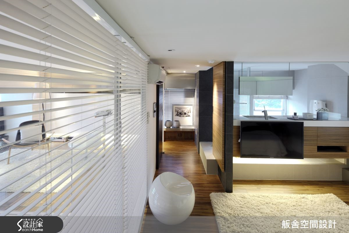 30坪中古屋(5~15年)_現代風走廊案例圖片_舨舍空間設計有限公司_舨舍_15之3
