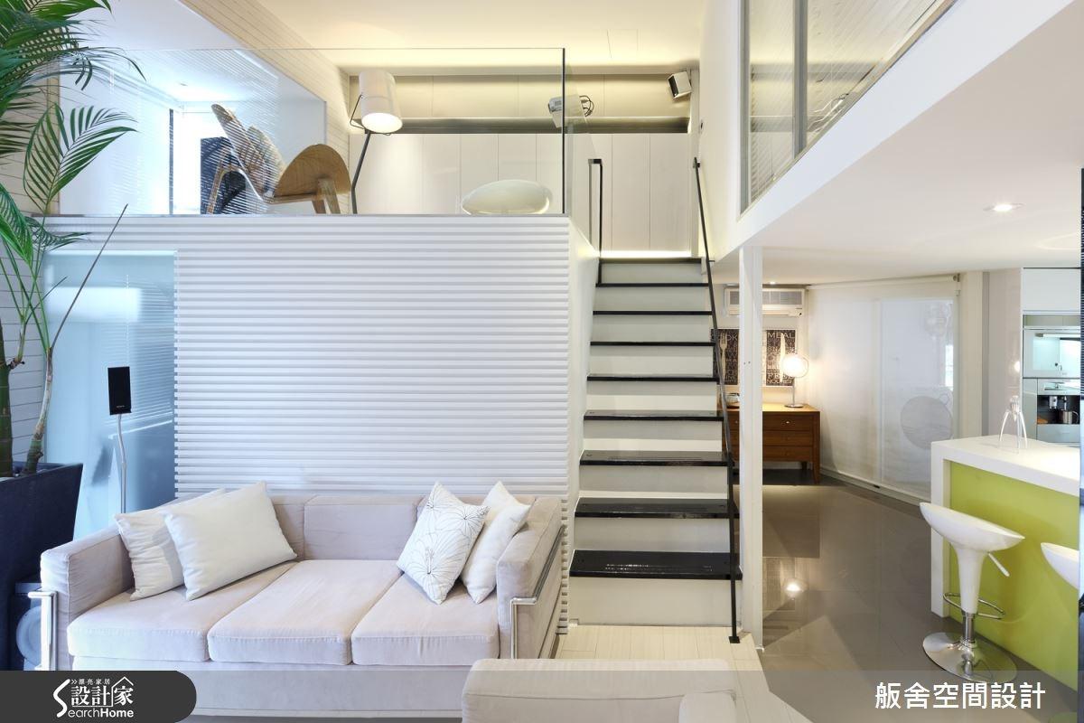 30坪中古屋(5~15年)_現代風客廳吧檯樓梯案例圖片_舨舍空間設計有限公司_舨舍_15之8