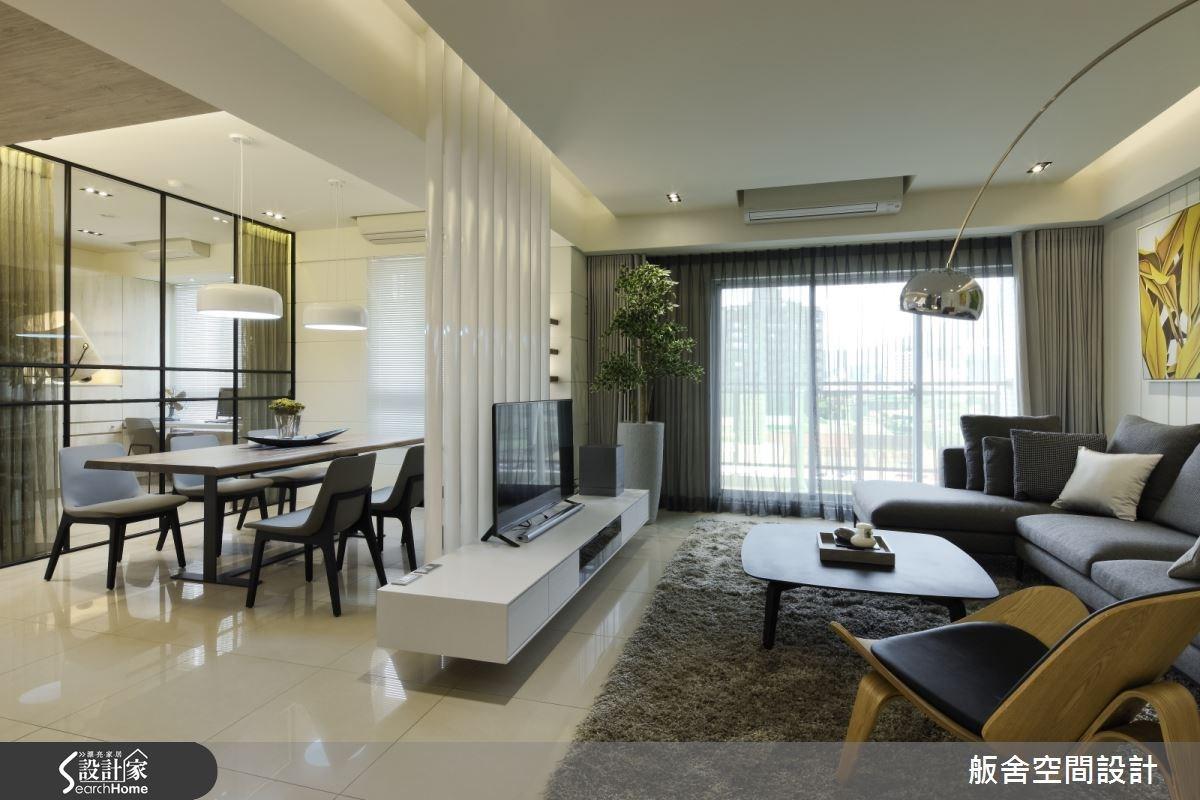 35坪新成屋(5年以下)_混搭風客廳餐廳案例圖片_舨舍空間設計有限公司_舨舍_16之2