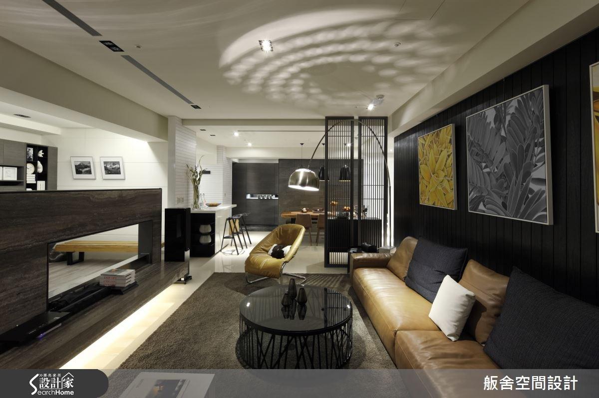 50坪新成屋(5年以下)_混搭風客廳吧檯案例圖片_舨舍空間設計有限公司_舨舍_17之1