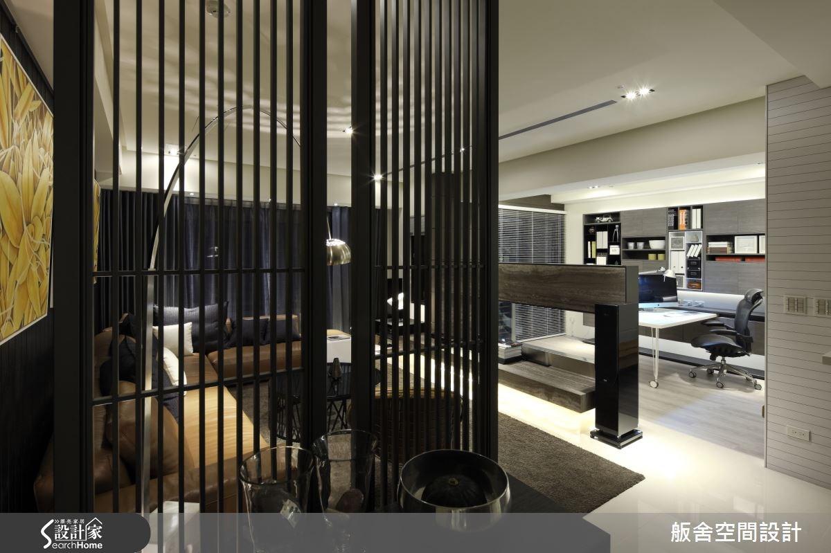 50坪新成屋(5年以下)_混搭風客廳書房案例圖片_舨舍空間設計有限公司_舨舍_17之4
