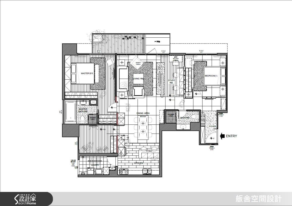 40坪新成屋(5年以下)_混搭風案例圖片_舨舍空間設計有限公司_舨舍_20之17