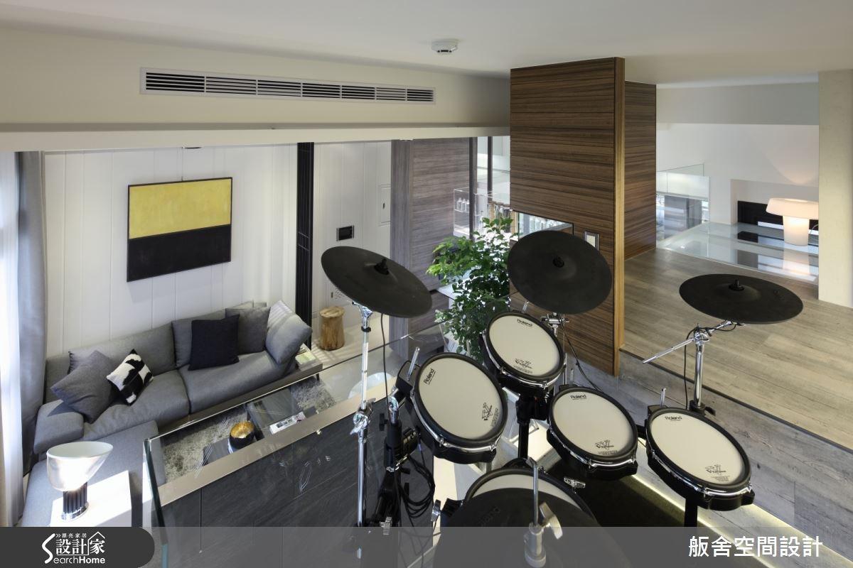 18坪新成屋(5年以下)_混搭風客廳案例圖片_舨舍空間設計有限公司_舨舍_21之1