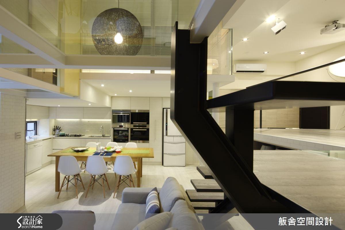 50坪中古屋(5~15年)_混搭風餐廳廚房案例圖片_舨舍空間設計有限公司_舨舍_22之3