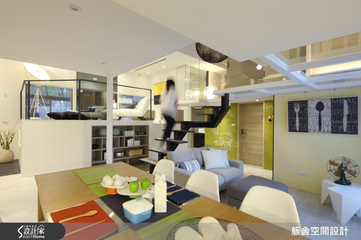 50坪中古屋(5~15年)_混搭風餐廳樓梯案例圖片_舨舍空間設計有限公司_舨舍_22之8