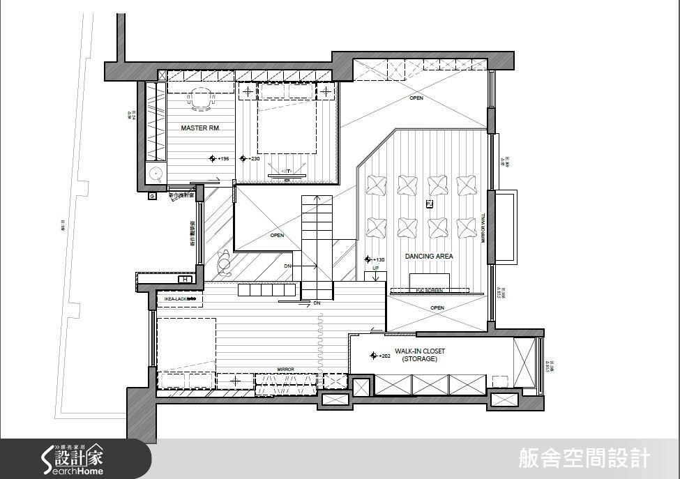 50坪中古屋(5~15年)_混搭風案例圖片_舨舍空間設計有限公司_舨舍_22之15