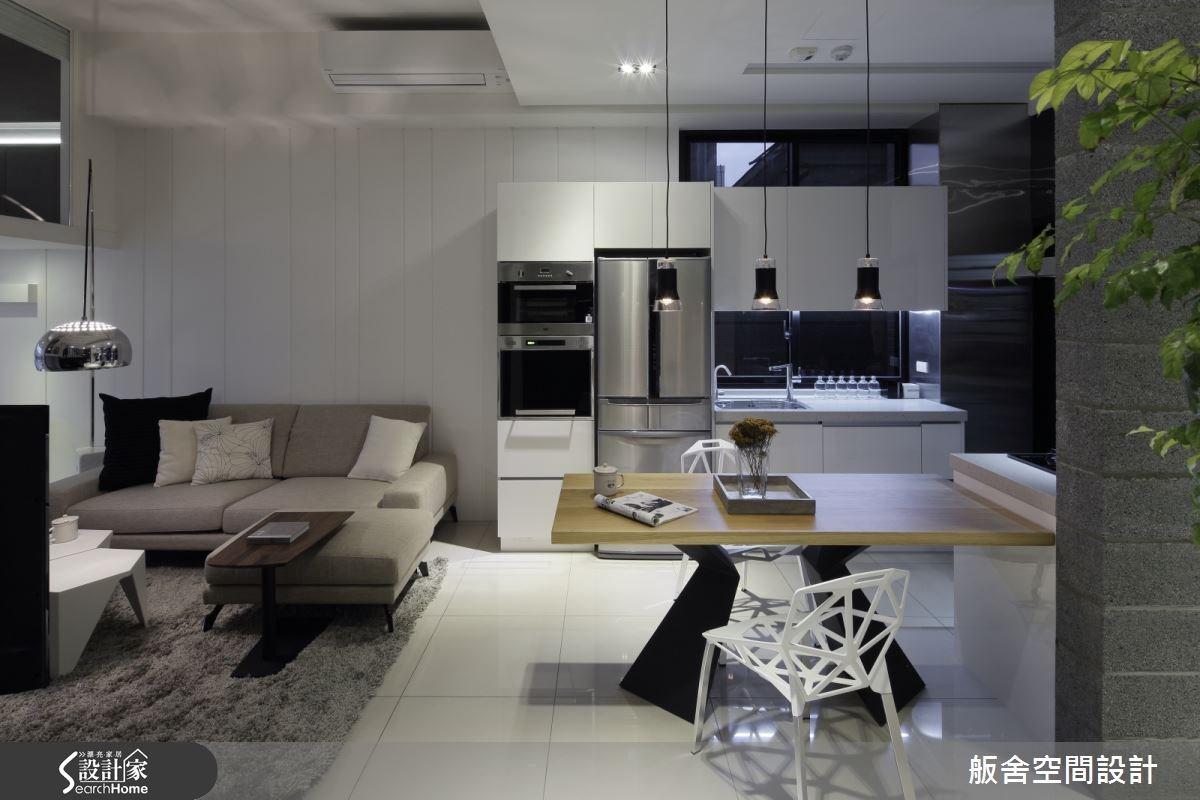 28坪新成屋(5年以下)_混搭風客廳案例圖片_舨舍空間設計有限公司_舨舍_25之1