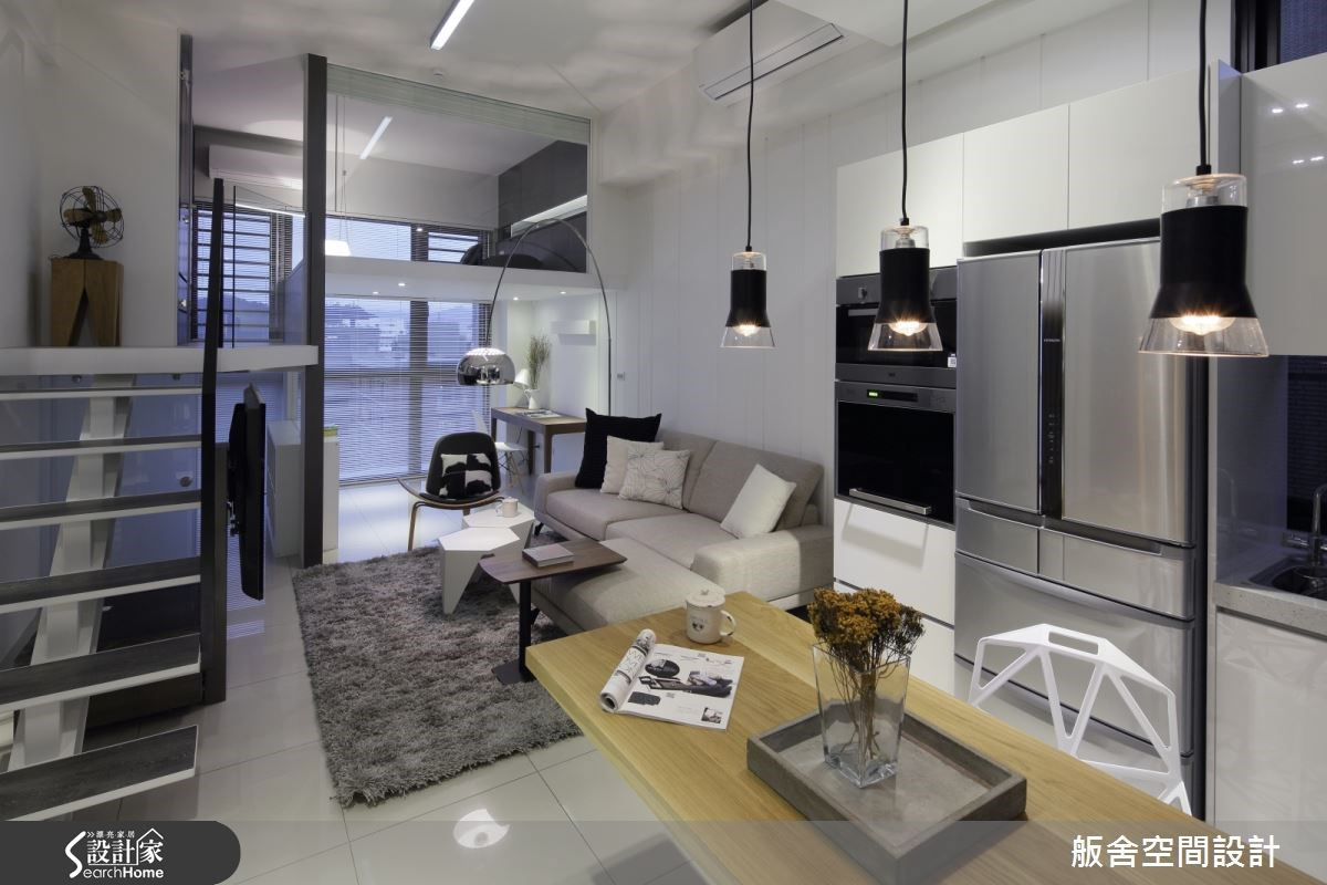28坪新成屋(5年以下)_混搭風客廳餐廳案例圖片_舨舍空間設計有限公司_舨舍_25之2