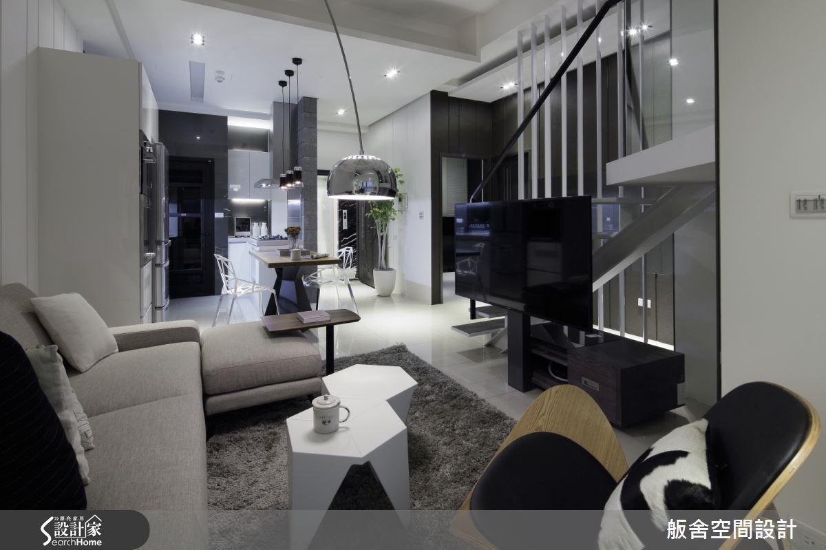 28坪新成屋(5年以下)_混搭風客廳餐廳案例圖片_舨舍空間設計有限公司_舨舍_25之4