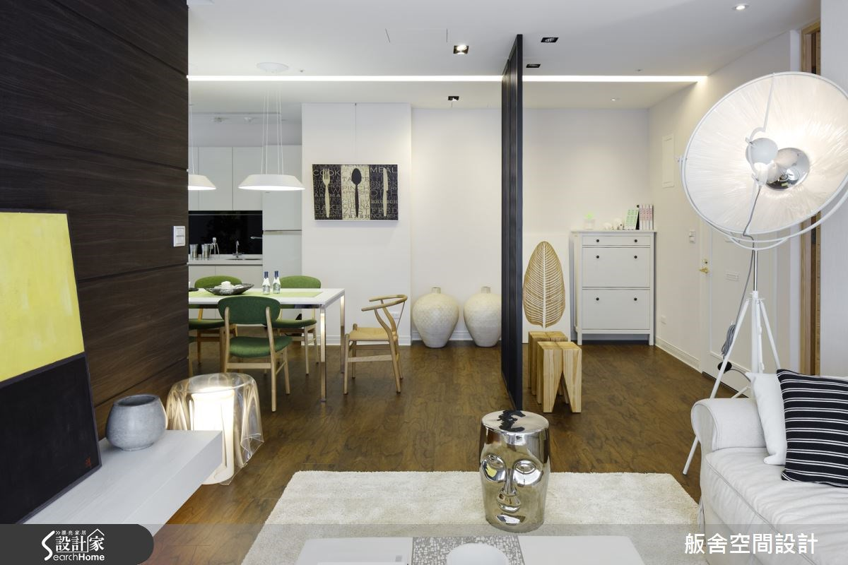 22坪新成屋(5年以下)_簡約風客廳餐廳案例圖片_舨舍空間設計有限公司_舨舍_26之3