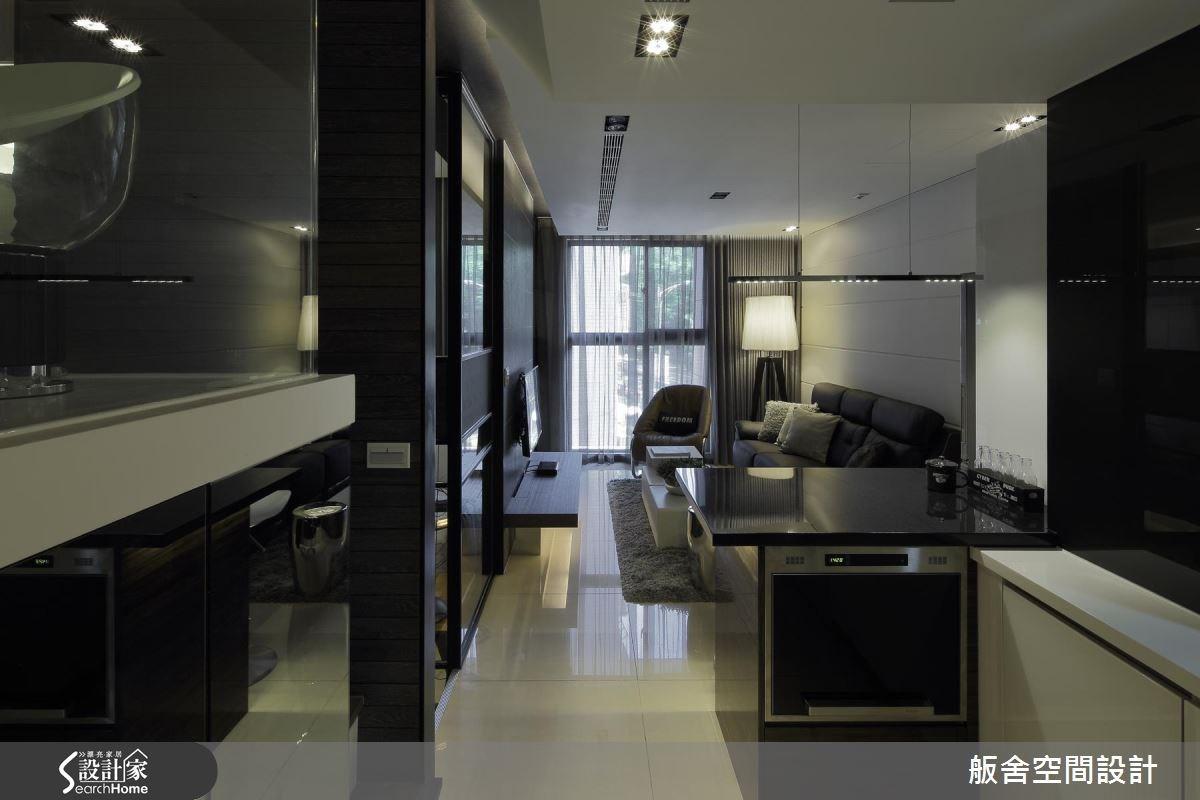 14坪新成屋(5年以下)_現代風客廳吧檯案例圖片_舨舍空間設計有限公司_舨舍_30之1