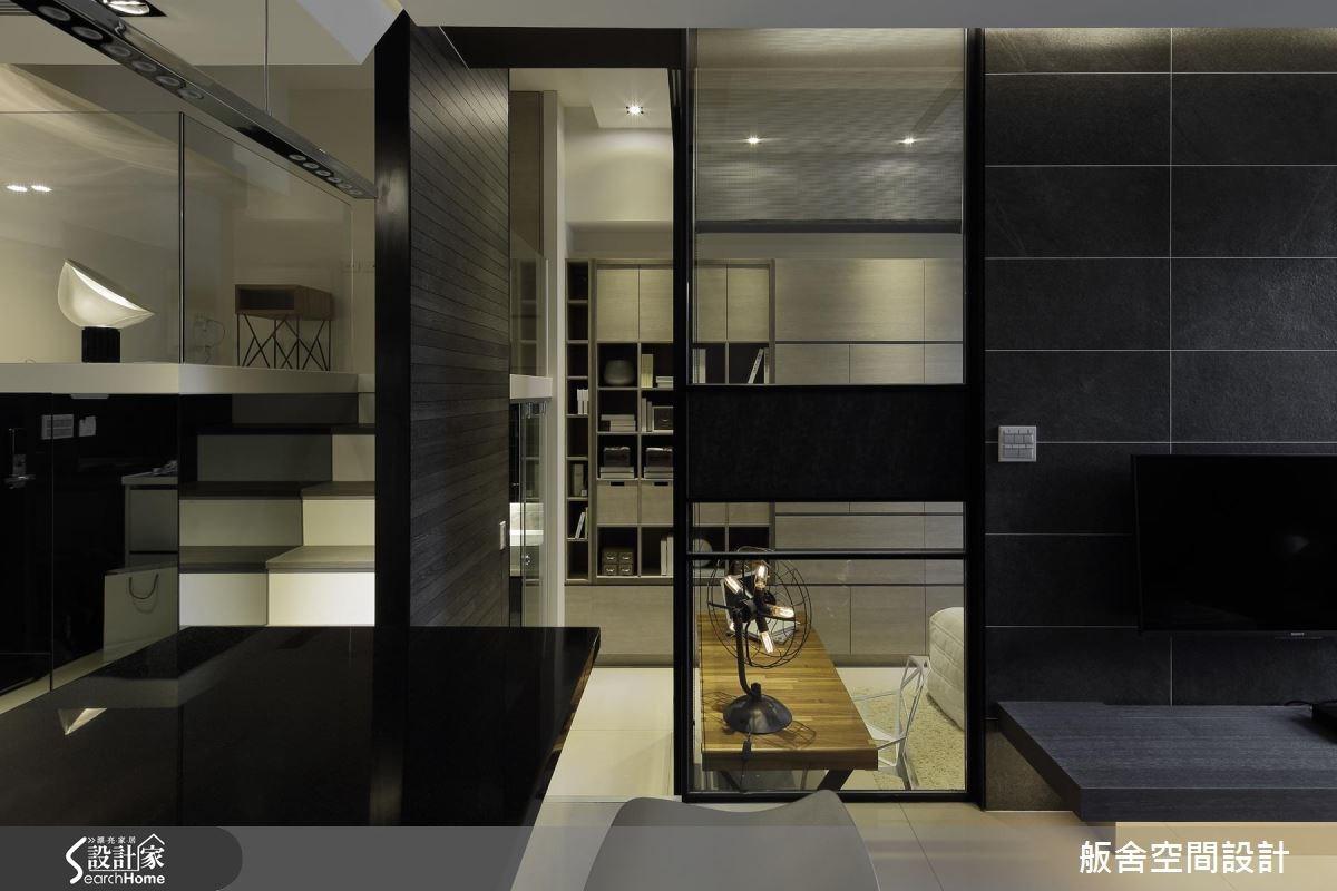 14坪新成屋(5年以下)_現代風吧檯樓梯案例圖片_舨舍空間設計有限公司_舨舍_30之3