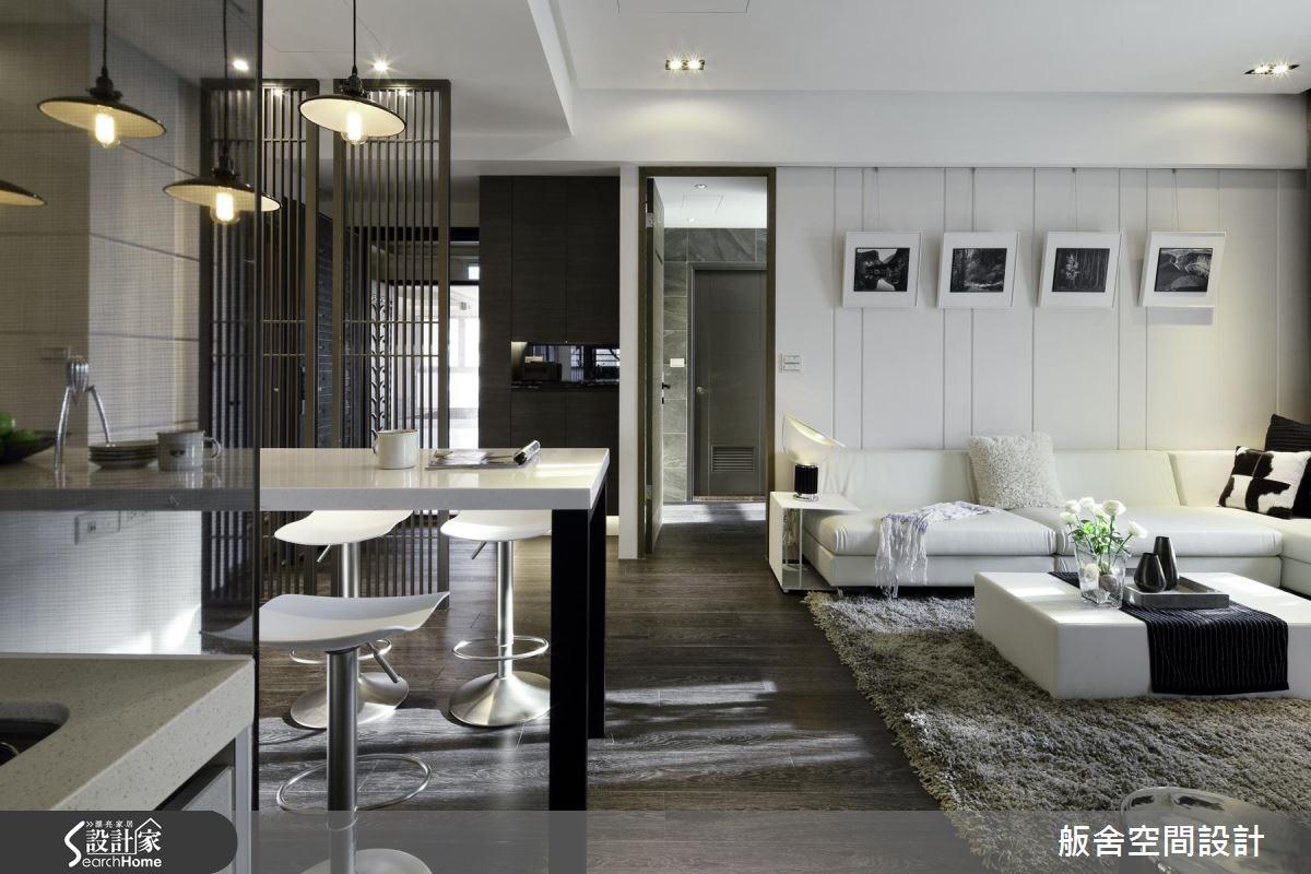 27坪新成屋(5年以下)_現代風吧檯案例圖片_舨舍空間設計有限公司_舨舍_31之2
