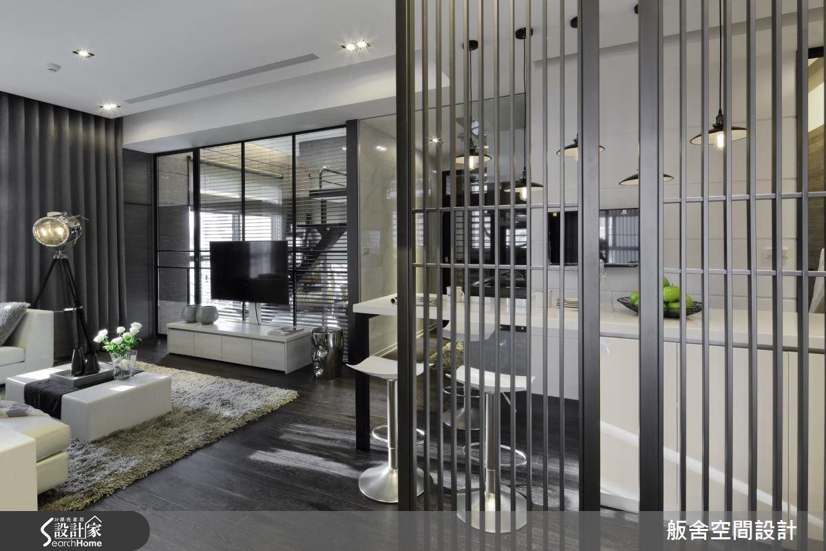 27坪新成屋(5年以下)_現代風客廳吧檯案例圖片_舨舍空間設計有限公司_舨舍_31之3