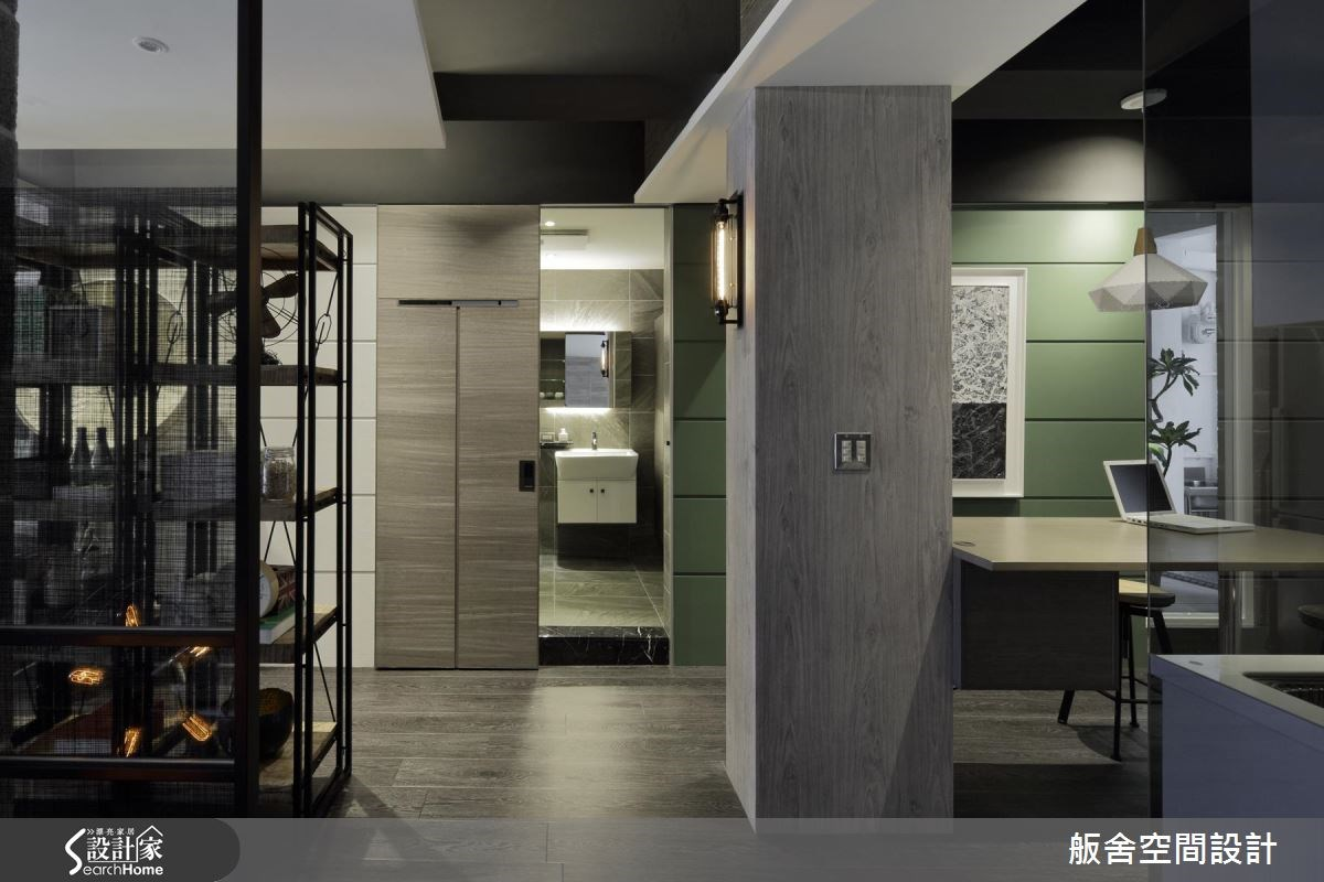 30坪老屋(16~30年)_工業風浴室走廊案例圖片_舨舍空間設計有限公司_舨舍_32之1