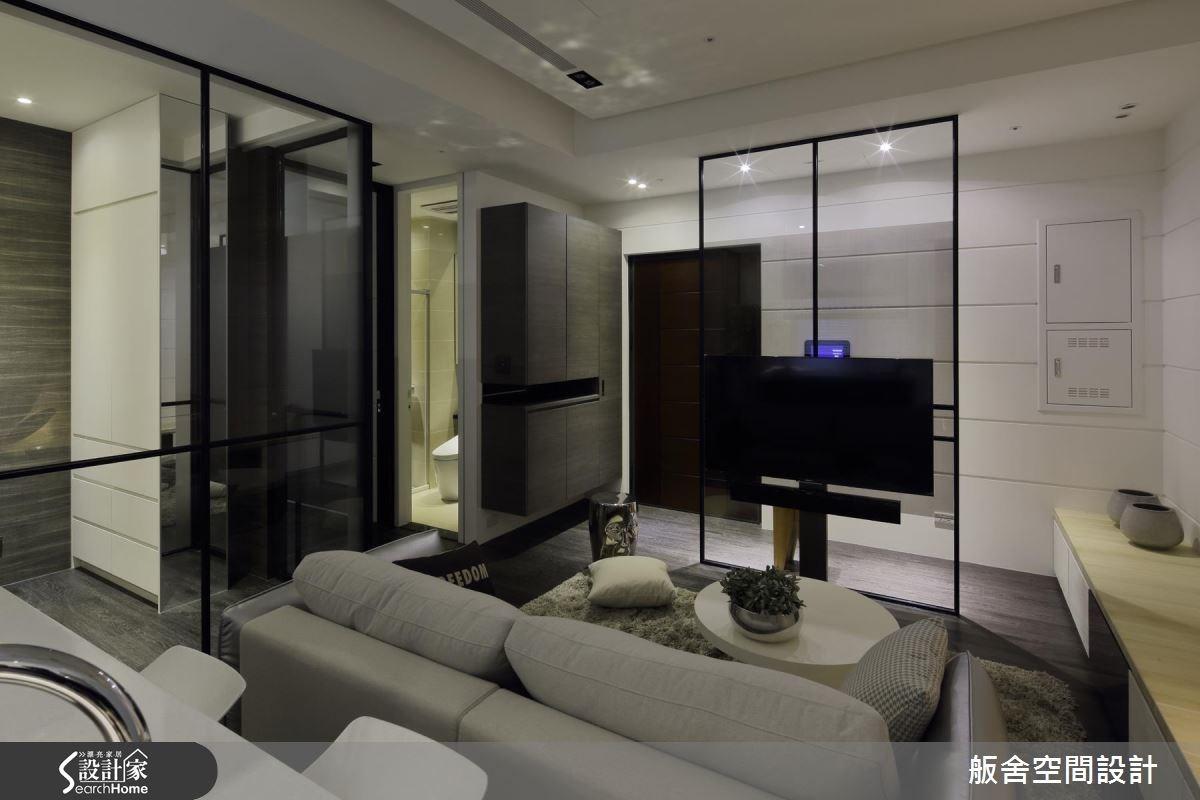 18坪新成屋(5年以下)_現代風客廳案例圖片_舨舍空間設計有限公司_舨舍_34之4